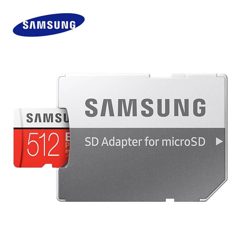 Samsung 512GB micro carte sd C10 carte mémoire flash 100 mo/s SDXC Class10 UHS-I U3 4K 512gb carte TF - 5