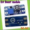 Atacado 1 pcs DC DC step up converter impulso 2A fonte de alimentação o módulo DE 2 V-24 V para FORA 5 V-28 V regulador ajustável placa Dropship