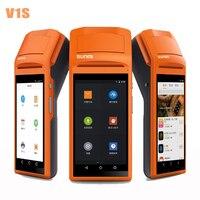 Портативный беспроводной Bluetooth термальность чековый принтер сенсорный экран usb SIM наушников Android Wi Fi GPRS Moblile POS терминал системы