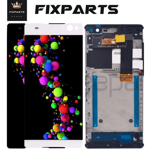 "ORIGINAL 6.0"" 1920x1080 Display For SONY Xperia C5 LCD Touch Screen Digitizer C5 Ultra Display Screen E5506 E5533 E5563 E5553"