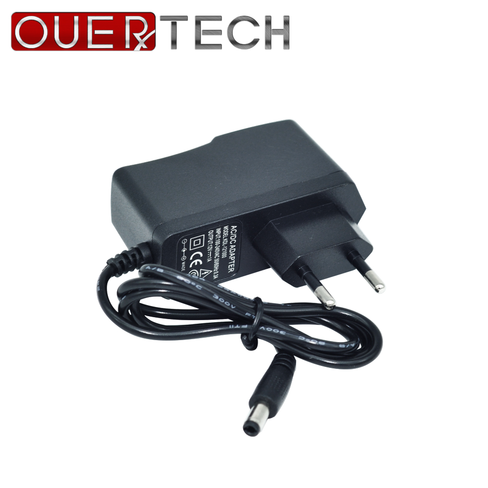 OUERTECH 12V 1A Switching Power Supply Converter Adapter EU /AU/UK/USPlug Charger For  CCTV Security IP WIFI Camera AHD camera