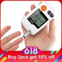 Cofoe Yili глюкометр для измерения уровня глюкозы в медицинский глюкометр для измерения уровня сахара в крови монитор диабетический тестер уро...