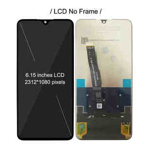 Image 4 - 화웨이 P30 라이트 MAR L01A LX1A LX2 L21A LX3A LCD 전체 디스플레이 화면 터치 디지타이저 어셈블리 노바 4e 디스플레이에 대 한 프레임 LCD