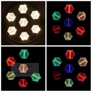 Image 5 - 2 unidades/lote de luces LED de alto brillo, 500W, a todo Color, Retro, luz de fiesta de música, 1600K