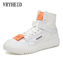 VRYHEID Brand 2019 New Autumn Fashion Men Ankle Boots Vintage Chelsea Non-Slip Outdoor Casual Sneakers Shoes High Top