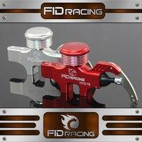 FID 4 Главный цилиндр для 4 колеса гидравлический тормоз Комплект HPI KM ROVAN Baja 5b 5S 5 т 1/5 газ Rc автомобилей Обновление Запчасти Новый