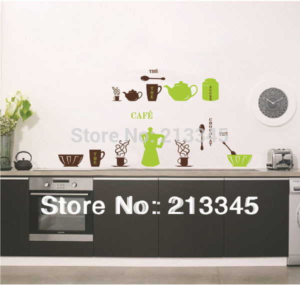 [saturday Monopoly] Diy Wall Stickers Home Decor Adhesive Kitchen Tiles Cabinet Tablewar ...