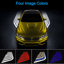 Universal Car LED Welcome Light Angel Projector Light Car Door Exterior Light Ground Lamps for All Cars and Motorcycles