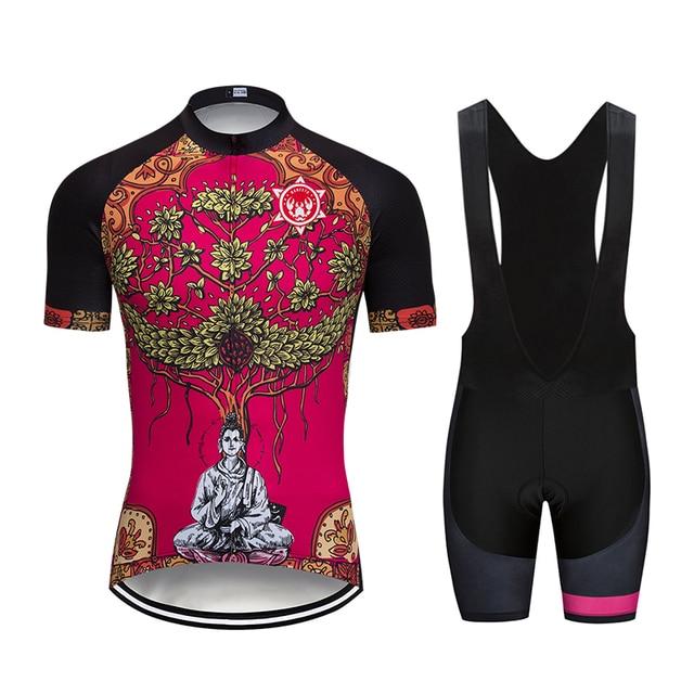 7dfa26dec Under the banyan tree 2018 Banesto Cycling Jersey 9D GEL Pad Bike Shorts  MTB Men s Cycling Clothing summer bike wear