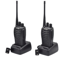 2Sets BF888S handheld fm transceiver UHF two way Radio BF 888S Ham communicator HF cb radio station Walkie Talkie Baofeng BF888S