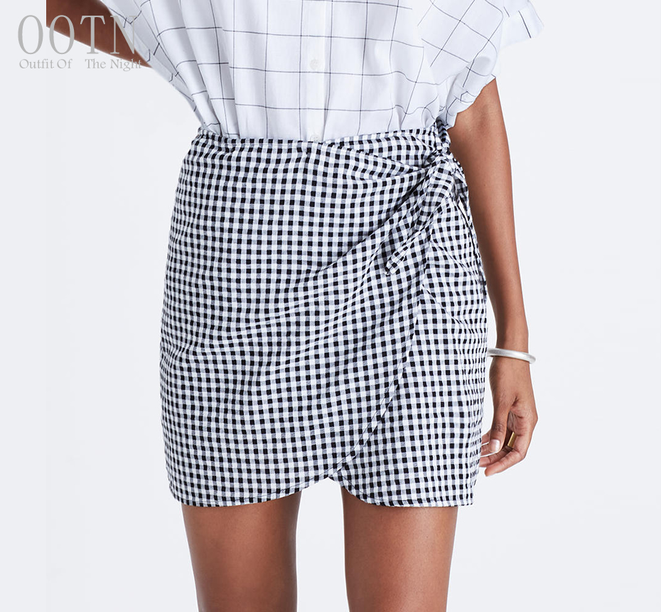 HTB1YXh3SpXXXXXSaXXXq6xXFXXXv - Women Plaid Short Skirts Black and White Checkered PTC 250