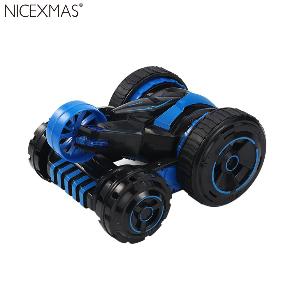 Voiture télécommandée RC Stunt 360°rotatif roulant Double face Cool enfants jouet cadeau véhicule pour garçons et filles