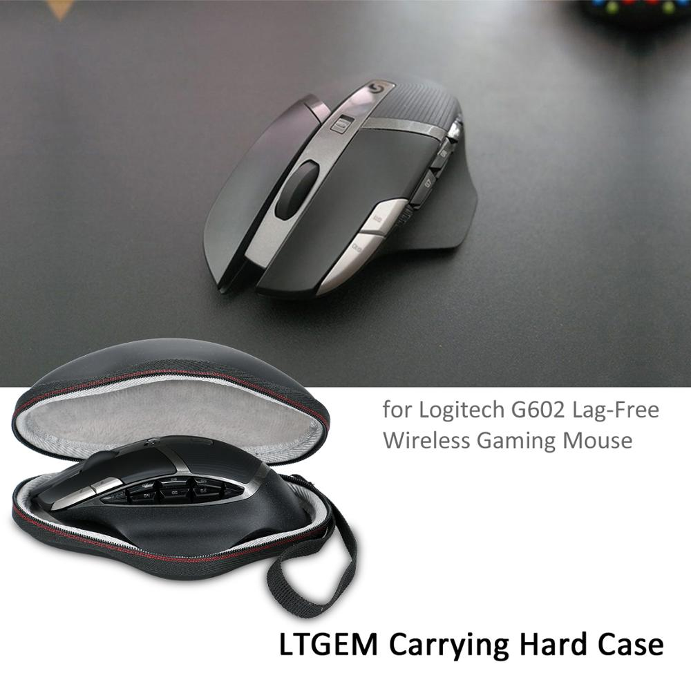 LTGEM EVA Hard Bag For Logitech G602 Lag-Free Wireless Gaming Mouse Case