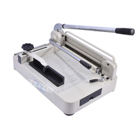 Manual Cutter Discount Heavy Duty A4 Size Stack Paper Cutter Ream Cutting Machine Paper Trimmer YG 868 A4 Cutting width 310mm