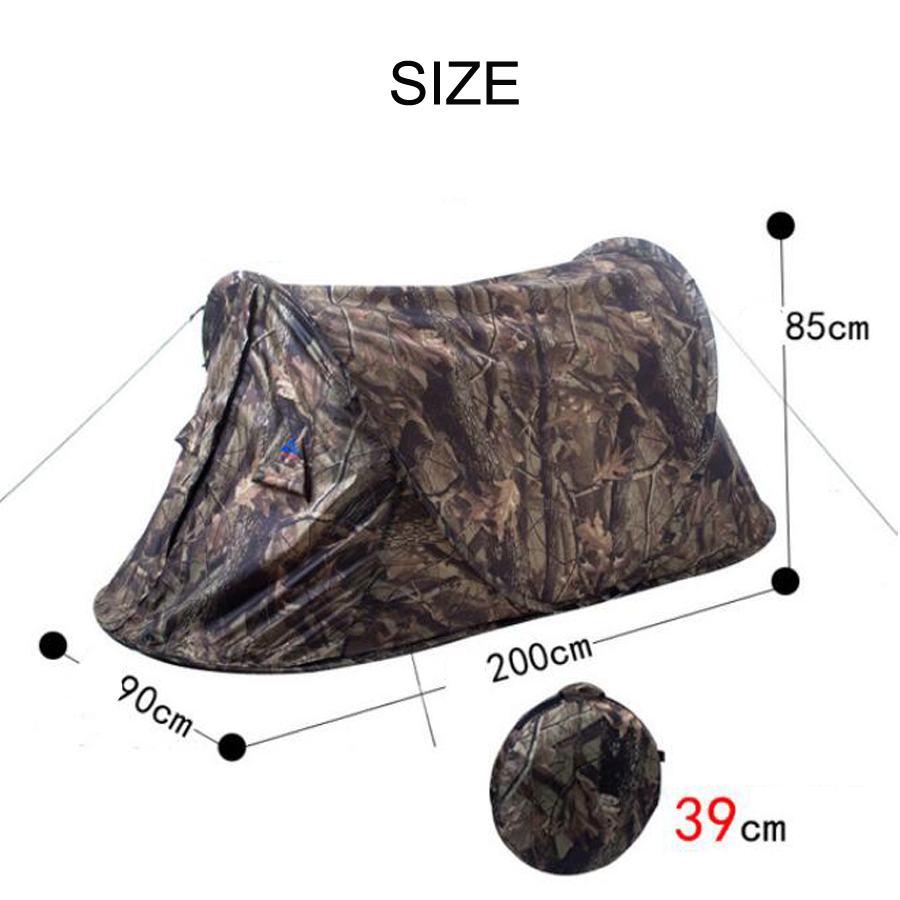 Ultralight Camouflage Camping Hunting Tent (4)