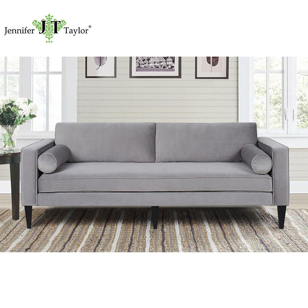 Jennifer Taylor, Nicholi Opal Grey Sofa,85W X 36D X 34H jennifer worth parandusmaja varjud