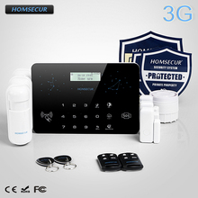 HOMSECUR Wireless Wired LCD 3G Telphone Line Home House Alarm System LC03 3G