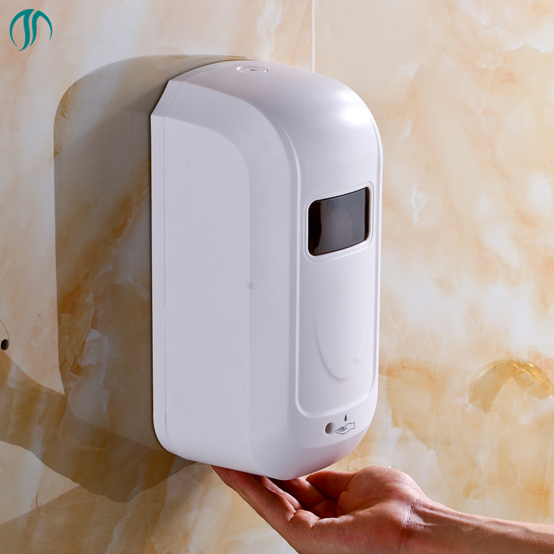 1000ml AC DC Wall Automatic Foam Dispenser Hand Sanitizer Sensor Automatic Soap Dispenser Auto Touchless Dispenser Soap Liquid kitpag47436wns101 value kit procter amp gamble professional foam hand soap dispenser pag47436 and windsoft 101 bleached white embossed c fold paper towels wns101