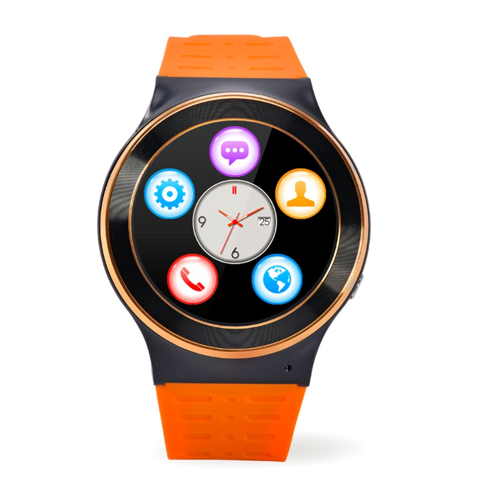 Moveski S99 3G Smartwatch Phone WIFI Bluetooth with Pedometer Heart Rate for Android Support Sim-card