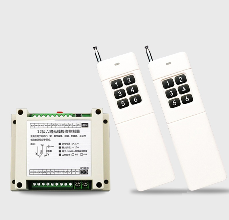 Long and strong stability DC 12V 6CH channel RF Wireless Remote Control Switch & Remote Control System 1 receiver+2 transmitter rakesh kumar tiwari and rajendra prasad ojha conformation and stability of mixed dna triplex