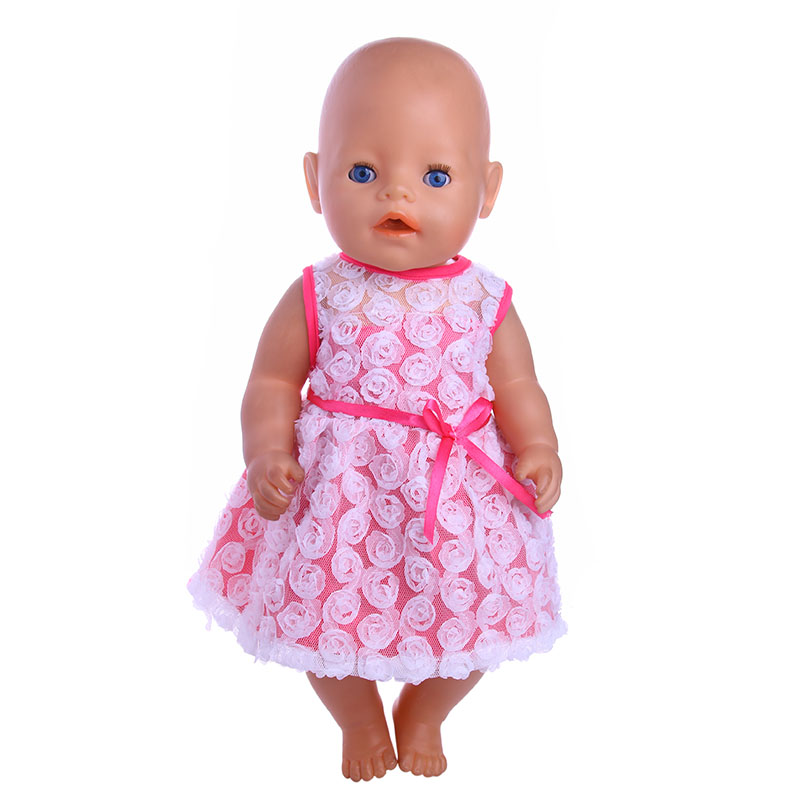 New Pink Plush Suits For 43cm Baby Doll Clothes For Best Gift Give To Children Back To Search Resultstoys & Hobbies only Suit