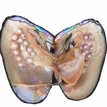 Пресноводный Культивированный Жемчуг Love Wish Oyster 5-8 мм одна жемчужина Oyster с около 25 жемчугом
