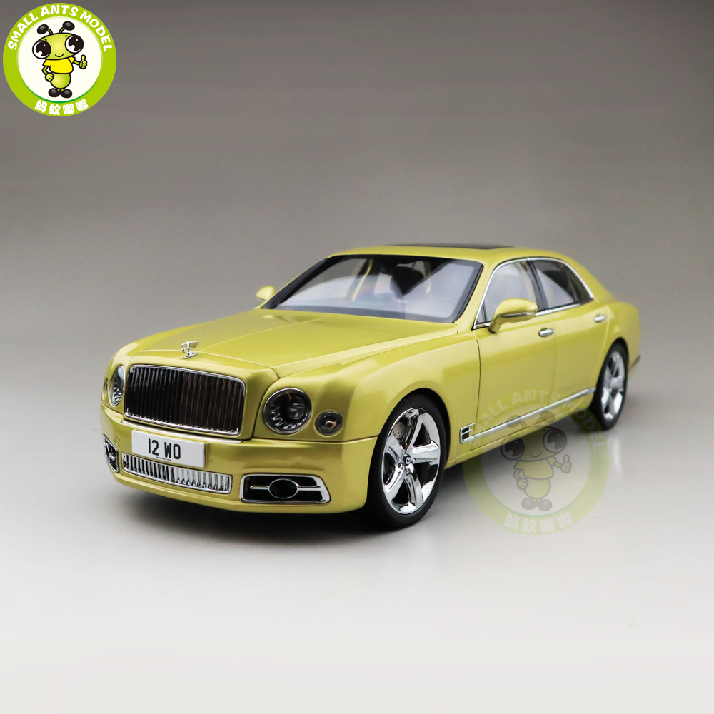 1 18 Almost Real Bentley Mulsanne Speed 2017 Julep Diecast Metal Model car Gift Collection Hobby