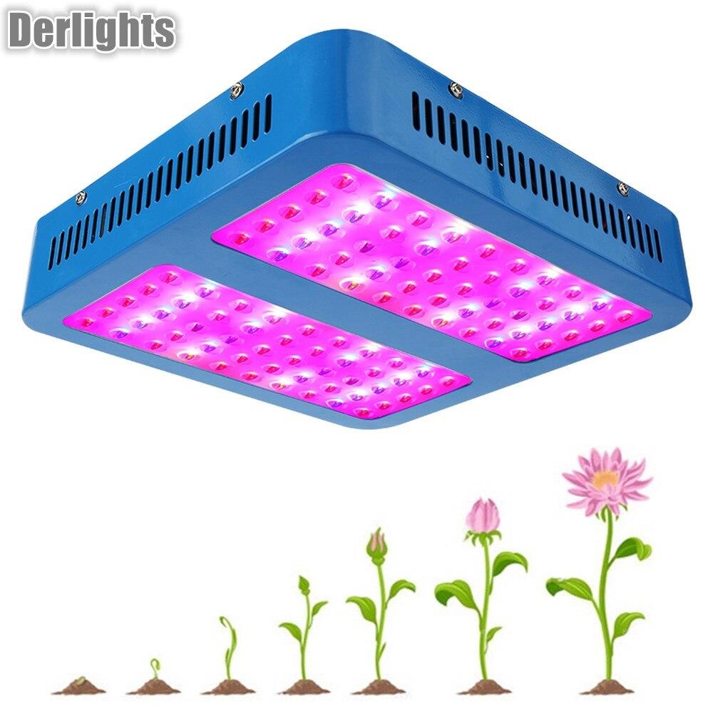1000 Вт растет свет полный спектр Красный светодио дный синий/UV IR для комнатных растений аквариум парниковых гидропоники цветения
