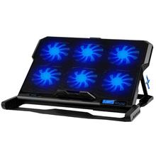 Buy ICE COOREL K6 Laptop Cooler 2 USB Ports 6 Cooling Fan Notebook PC Holder Pad Stand for 12-15.6 inch Laptops Ultrabook Game Book directly from merchant!