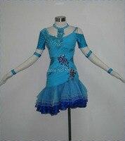 High Quality Women Latin Dance Wear,Fringe Salsa Dress Tango Samba Rumba Chacha Dress,Latin Dance Dress L 1140