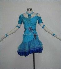 High Quality Women Latin Dance Wear,Fringe Salsa Dress Tango Samba Rumba Chacha Dress,Latin Dance Dress L-1140