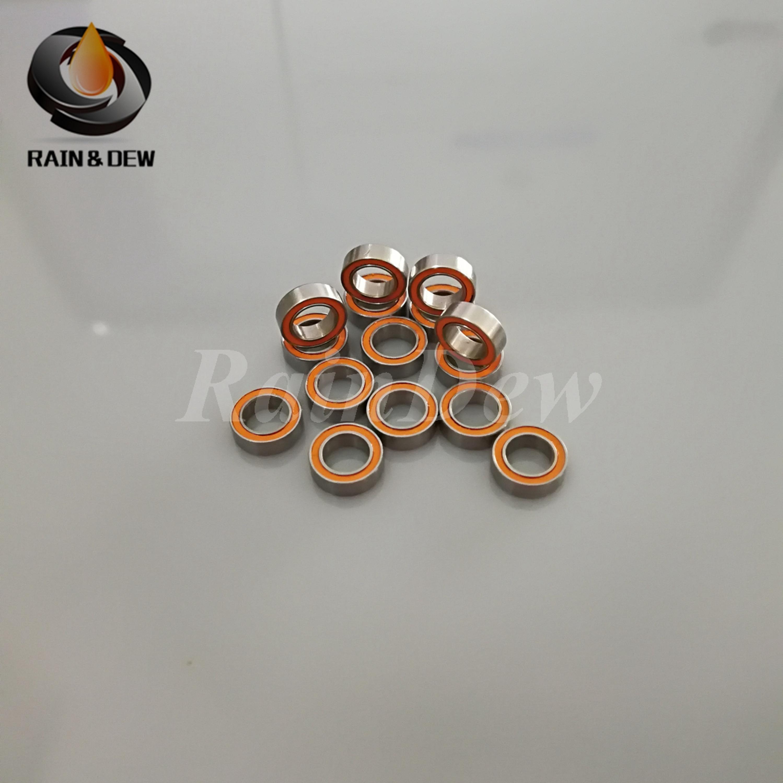 10PCS 2X5X2.5mm Stainless Steel Miniature Ball Bearings Ochoos smr52 SMR52ZZ ABEC-1