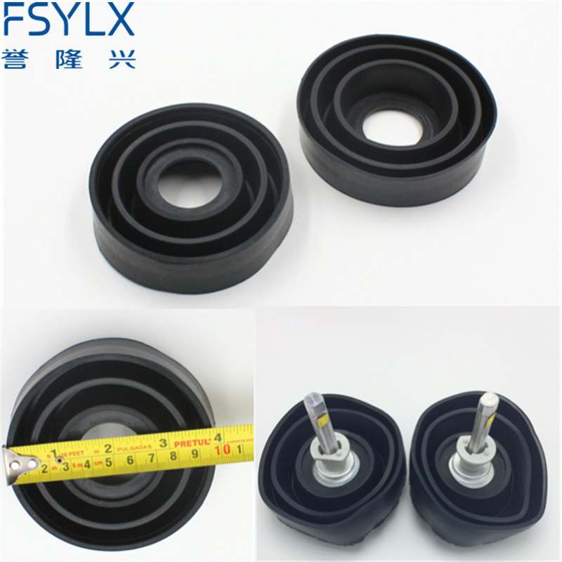 FSYLX Dustproof Dust Seal Cover For Car Motorcycle LED Xenon HID HEADLIGHT/ KIT H4 Hb2 9003 H13 9004 9007 Hb5 Led Hid Headlight