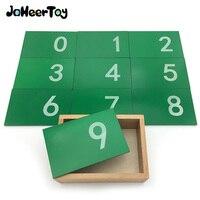 JaheerToy Montessori eğitici oyuncak 0-9 dijital tahta Kum Plaka Bebek Ahşap Oyuncaklar Çocuklar için 3-4-5 Yıl figürü