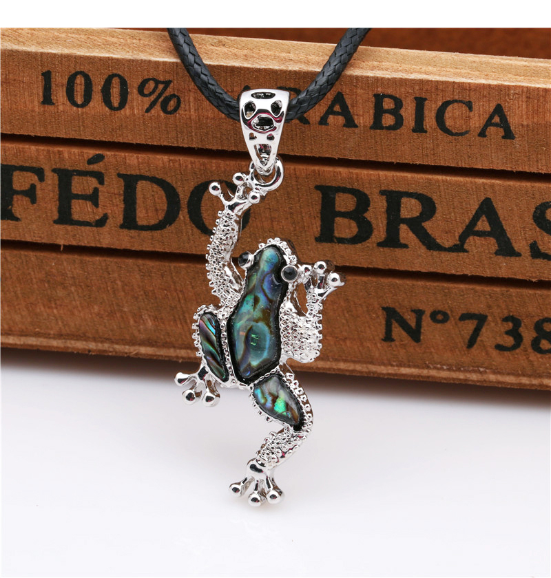 Frog Pendants Necklace (7)