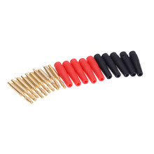 10pcs/lot 2mm Wilding Banana Plug Audio Speaker Amplifier Cable Wire Power Screw Jack Connector Adapter Accessories(China)