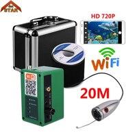 Stardot Wifi Wireless Underwater Fishing Video Camera Kit 1000tvl Fishing Video Ghi Âm Cá Camera Finder