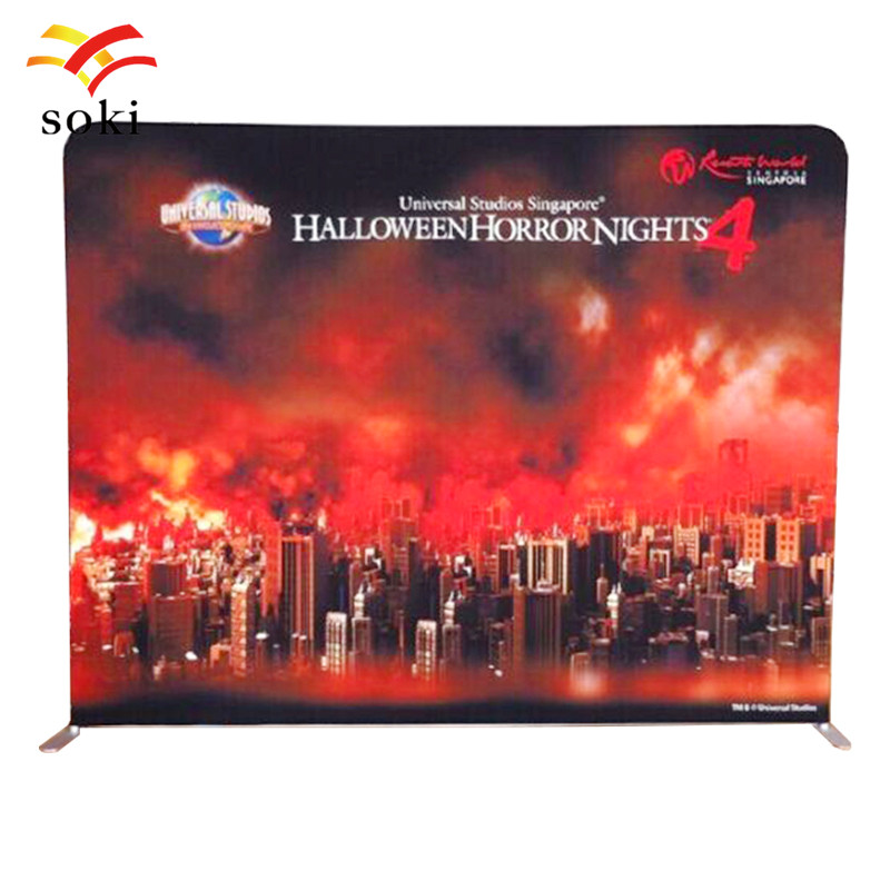 Exhibition Booth Banner : Ft exhibition booth portable tension fabric banner display stand