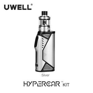 Image 5 - UWELL Kit de cigarrillo electrónico Hypercar, atomizador de tanque giratorio de 2/3, 5ml, funciona con batería 18650 (sin batería), 80W