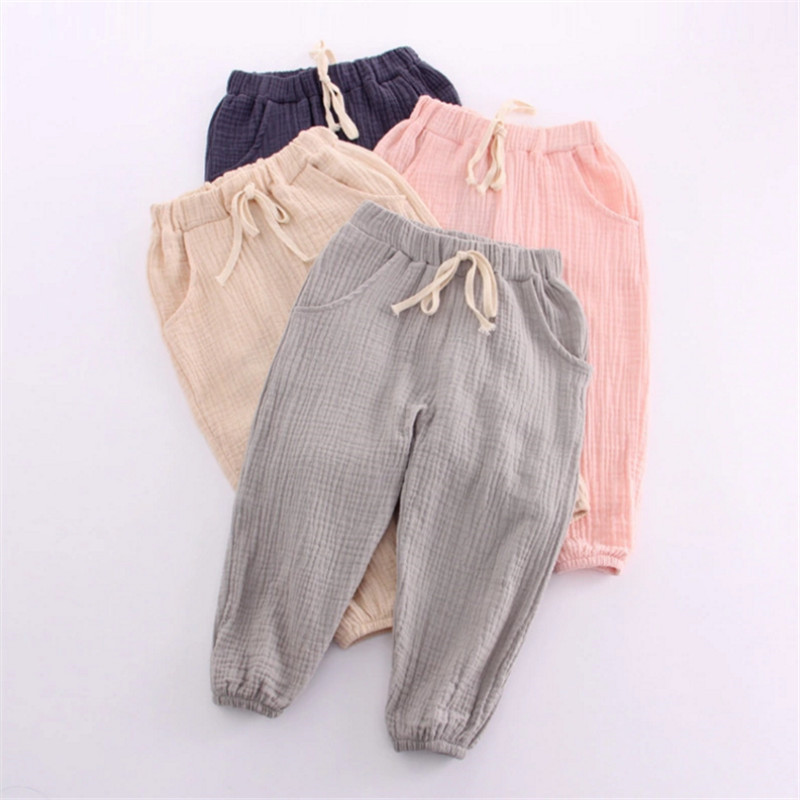 Online Buy Wholesale girls linen trousers from China girls linen ...