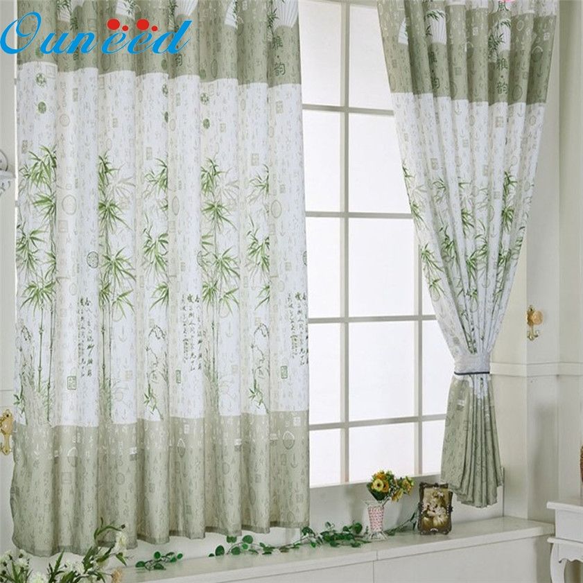 Zero Bamboo Calico Finished Product Cloth Window Screens Curtain(China  (Mainland))