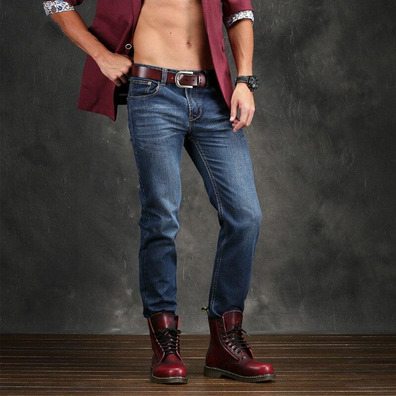 Metrosexual Denim Jeans Para Hombre Flaco Pantalones Vaqueros de Los Hombres  Pantalones Vaqueros Para Hombre de la Marca de ropa de Los Pantalones  Vaqueros ... b0280efd1d82