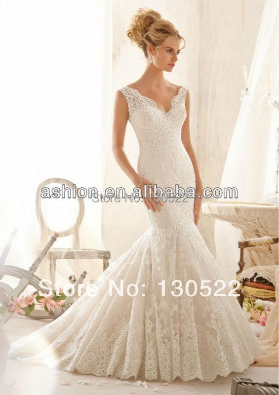 Free Shipping We 2163 Sleeveless Elegant Wedding Dresses For Mature