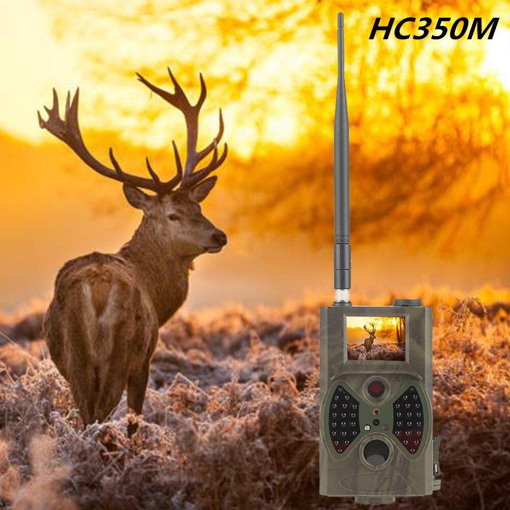 Skatolly HC350M Hunting Camera MMS Photo trap 16MP 1080P GSM MMS 0.5s Trigger Night Vision infrared Cam pk hc500m 2 lcd hd 1080p mms digital infrared