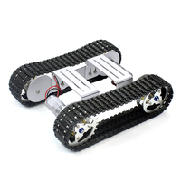 Feichao DIY Smart Shock absorbent Chassis Crawler Base Crawler Belt for RC Tank Robot Car A 04