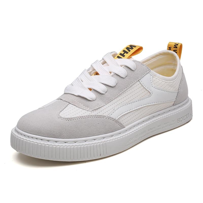 ZENVBNV Moda Zapatos de Malla Transpirable Hombres Retro Con Cordones - Zapatos de hombre - foto 3