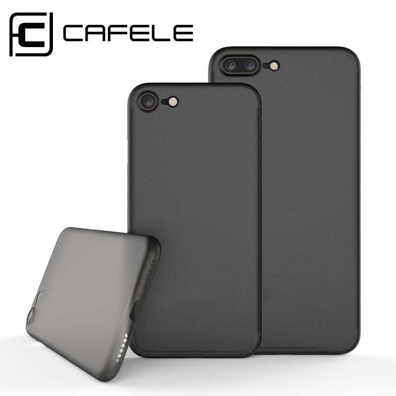 Original CAFELE For iPhone 11 Pro Max 8 7 PLUS X XS MAX 5 SE Veske Luksus Glatt Matte PP Bakdeksel For iPhone 11 Pro Max