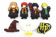 14 Pcs PVC Harry Potter Shoe accessories Shoe Charms Shoe Decorations for Croc Bracelet Wristband Kid Gift(China (Mainland))