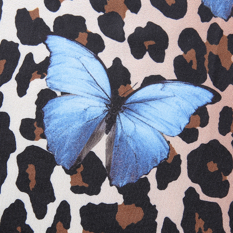 borboleta impressão rendas até vestidos de verão