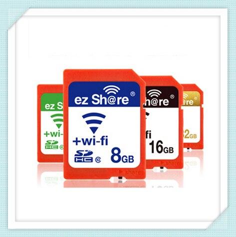 Лучшая Цена Оригинальных EZ Доля микро tf карты Adpater Wifi беспроводной 8 Г 16 Г 32 Г Карты Памяти Карты Памяти micro tf card Reader